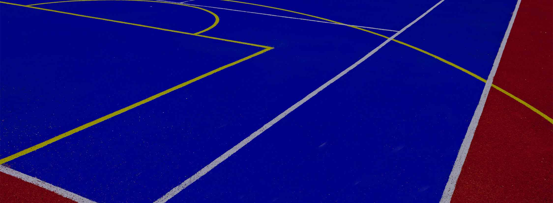 installed basketball court surface